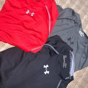 Men's Under Armour compressions shirts